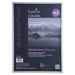 Moldura Stewart Superior - alumínio - A3