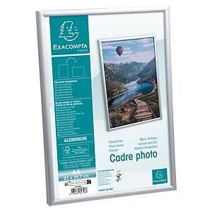 Cadre photo Stewart, A4, aluminium, argenté
