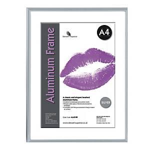 Bilderrahmen Superior ALA4-SV, für DIN A4, aluminum