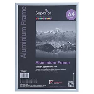 Ramka aluminiowa Stewart A4 srebrna