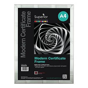 Premium Certificate Frames Silver Size A4