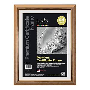 Ramka na zdjęcia STEWART SUPERIOR Premium, A4, złota