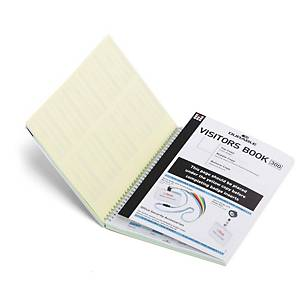 Durable Visitors Book Refills - Pack of 300 Perforated Badge Inserts