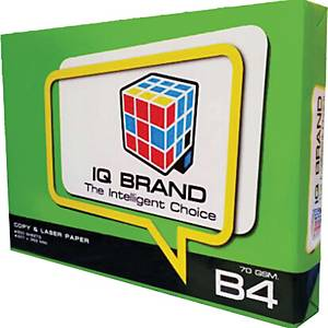 IQ GREEN White B4 Copy Paper 70G  Ream of 500 sheets