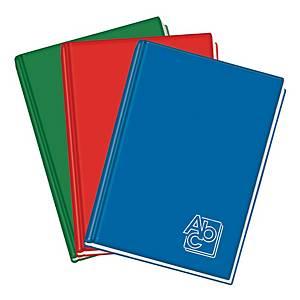 Registro cartonato uso amministrativo Blasetti A4 quadretti 5mm colori assortiti