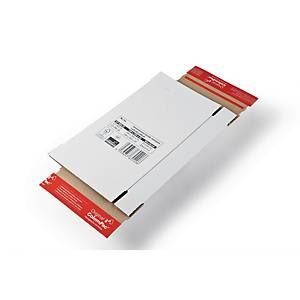 Koerier verzenddozen, brievenbusformaat, C4, 344x15x244 mm, per brievenbusdoos