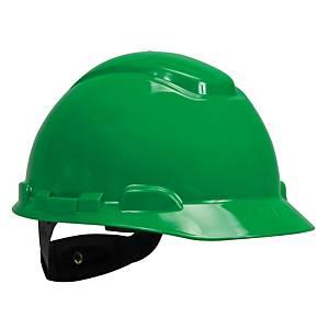 3M หมวกนิรภัย H-704R ปรับหมุน เขียว