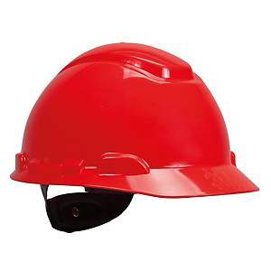 3M หมวกนิรภัย H-705R ปรับหมุน แดง