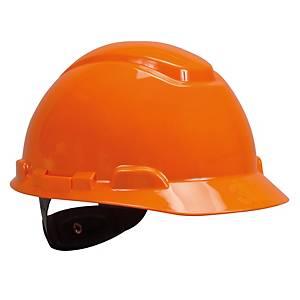 3M หมวกนิรภัย H-706R ปรับหมุน ส้ม