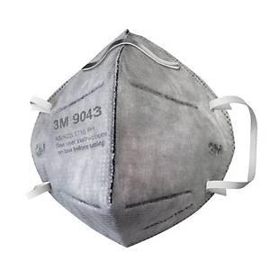 3M หน้ากากป้องกันฝุ่นละอองและไอระเหยสารเคมี 9043A P1