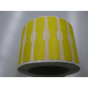Dumbbell Label 12X52 Yellow - Roll of 1000