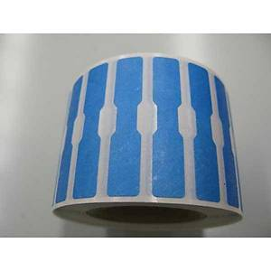 Dumbbell Label 12X52 Blue - Roll of 1000