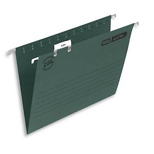 Elba Ultimate Suspension File Foolscap Green V Base Box 50