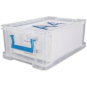 Allstore plastic opbergdoos, 10 l, transparant, per opbergbox