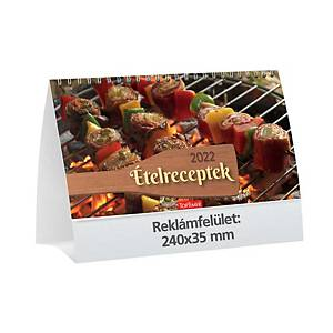 KALENDART T058 FOOD RECIPES DESK CAL.