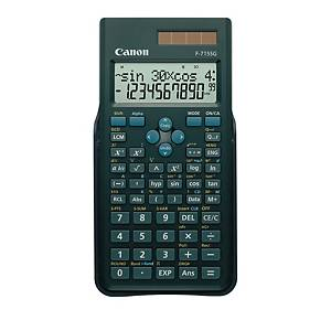 Teknisk kalkulator Canon F-715SG, sort, 250 funksjoner