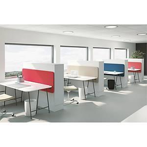 Skærmvæg Abstracta Softline 30 bord, 45 x 200 cm, mørkeblå