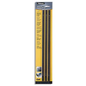 PK3 FELLOWES CUT STRIPS F/ A4 TRIMMERS