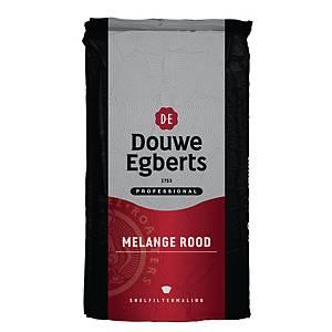 Café Douwe Egberts Mélange Rouge, le paquet de 1 kg