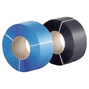 Feuillard standard - 12 mm x 2500 m - noir - lot de 2