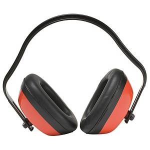 MEDOP RUMOR IV EARMUFF SNR25 BLACK/RED