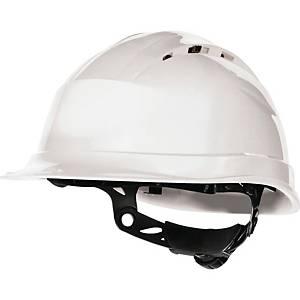 Casque de sécurité Deltaplus Quartz Up IV, blanc