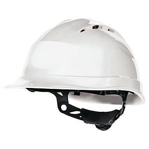 Sikkerhedshjelm Deltaplus Quartz Up IV, hvid