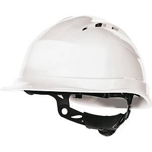 Capacete de segurança com ventilação Deltaplus Quartz UP IV - branco