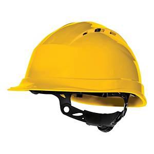Bezpečnostná prilba DELTAPLUS QUARTZ UP IV, žltá