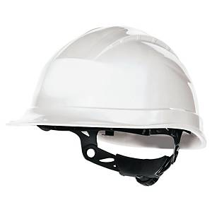 Sikkerhedshjelm Deltaplus Quartz Up III, hvid
