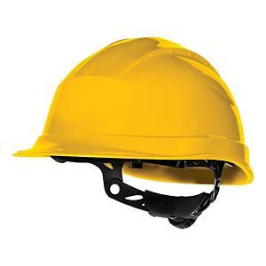 Deltaplus Quartz Up III safety helmet, yellow