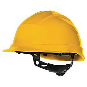 DELTAPLUS QUARTZ UP 3 SAFETY HELMET YELLOW