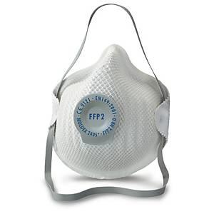 Caixa de 20 máscaras descartáveis Moldex 2405 - FFP2 - moldadas com válvula