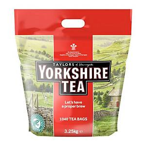 Yorkshire Tea Bags 1 Cup - Pack of 1040