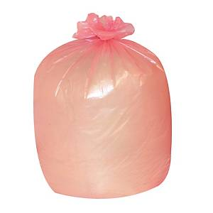 The Green Sack CHSA 10kg Medium Duty Refuse Sack 767mm X 965mm Red - Box of 200