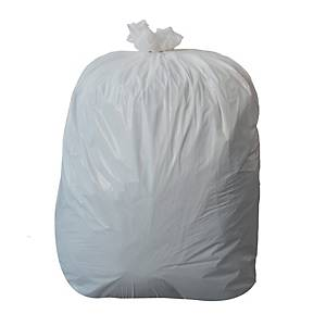 PEDAL BIN LINER 275MM X 450MM X 450MM WHITE - PACK OF 1000