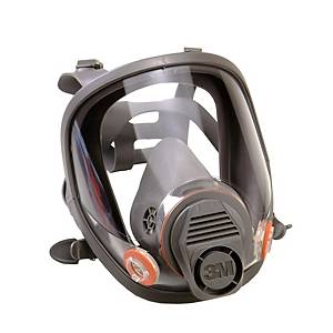 3M 6800 full face mask, size M, silicone, grey
