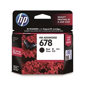 HP 678 I/JET CART CZ107A BLACK