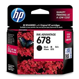 HP ตลับหมึกอิงค์เจ็ท HP678 CZ107AA สีดำ