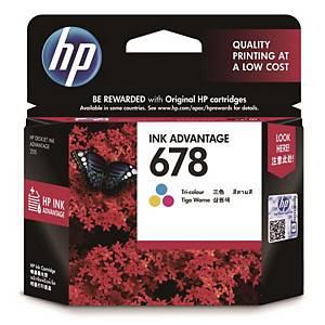 HP 678 I/JET CART CZ108A COL