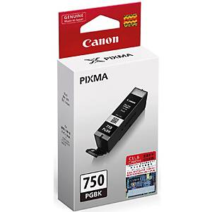 CANON ตลับหมึกอิงค์เจ็ท PGI-750PGBK สีดำ
