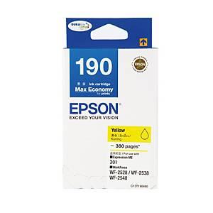 EPSON ตลับหมึกอิงค์เจ็ท รุ่น T190490 สีเหลือง