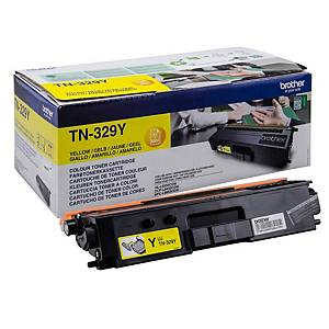 Brother TN-329Y toner cartridge, geel