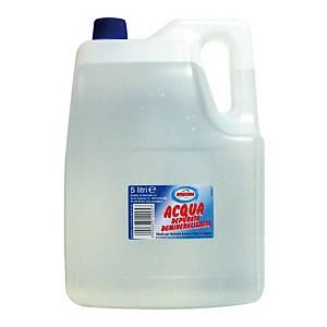 Acqua depurata demineralizzata 5 L