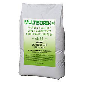 Polvere vegetale assorbente universale multisorb conf. 6 kg