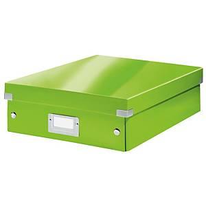 Leitz Click & Store tárolódoboz, méret: M, zöld