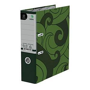 ตราช้าง แฟ้มก้านยก 120 A4 สัน 3 นิ้ว สีเขียว