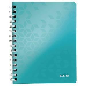 Notesbog Leitz WOW, A5, linjeret, isblå