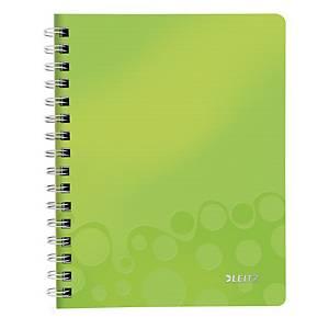 Notesbog Leitz WOW, A5, linjeret, grøn