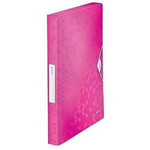 Box na spisy Leitz Wow, PP, farba ružová